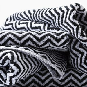 Herringbone Bath Towels – Bath Towel