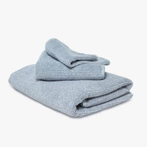 Textured Tweed Marine Towel