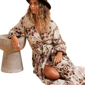 Desert Wrap Dress
