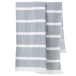 Stripe Organic Cotton Beach Towel