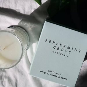 Wild Jasmine and Mint Candle
