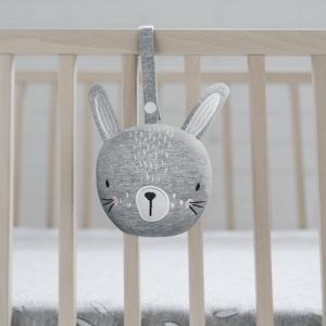 Bunny Rattle Ball