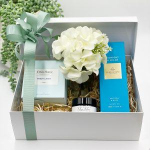 Relax in Fresh Linen Gift Box