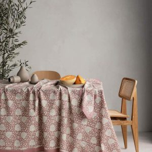 Blush Sienna Table Cloth